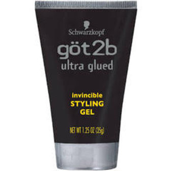 Got2b Ultra Glued Invincible Styling Hair Gel, 1.25 Ounc