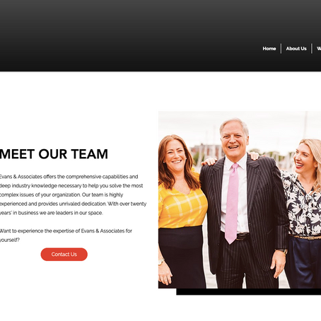 Press Release: Evans & Associates Launches New Website
