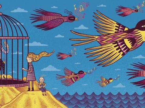 El pájaro y su carcelero