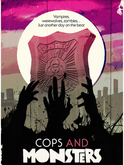 COPS AND MONSTERS 1200X1600 ARTWORK