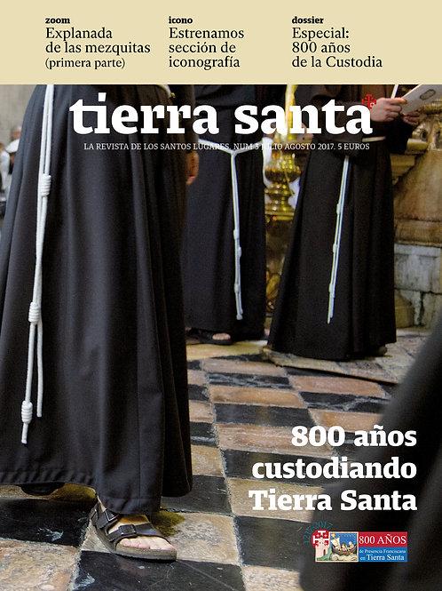 Revista Tierra Santa en formato papel. Ejemplares atrasados.