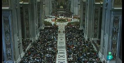 El Papa Francisco en su homilía en el Sínodo de los jóvenes