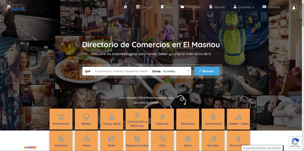 Portal Maresme - Directorio de Comercios y Profesionales del Maresme