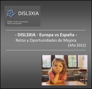DISLEXIA en Europa y España