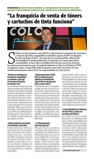 La Vanguardia: Entrevista a Josep Soler Vinardell
