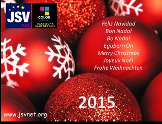 JSVnet & Color Plus Sant Gervasios desea Feliz Navidad!