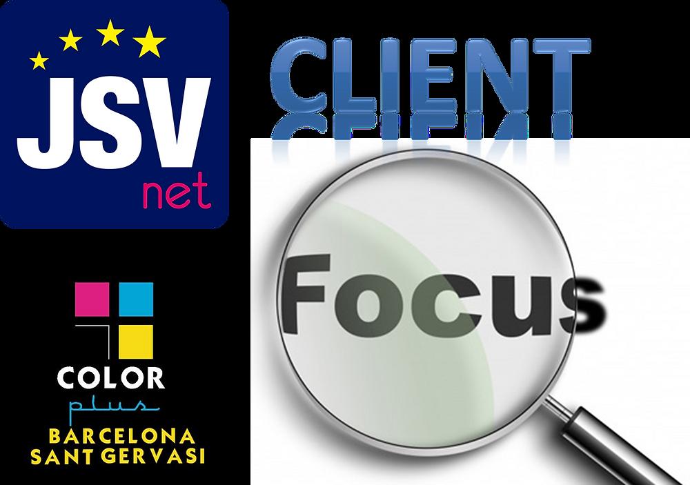 JSVnet & Color Plus Sant Gervasi - Client Focus