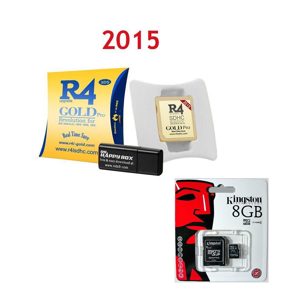 R4 GOLD 3DS PRO 2015