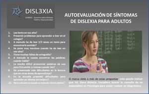 Autoevaluación dislexia para adultos