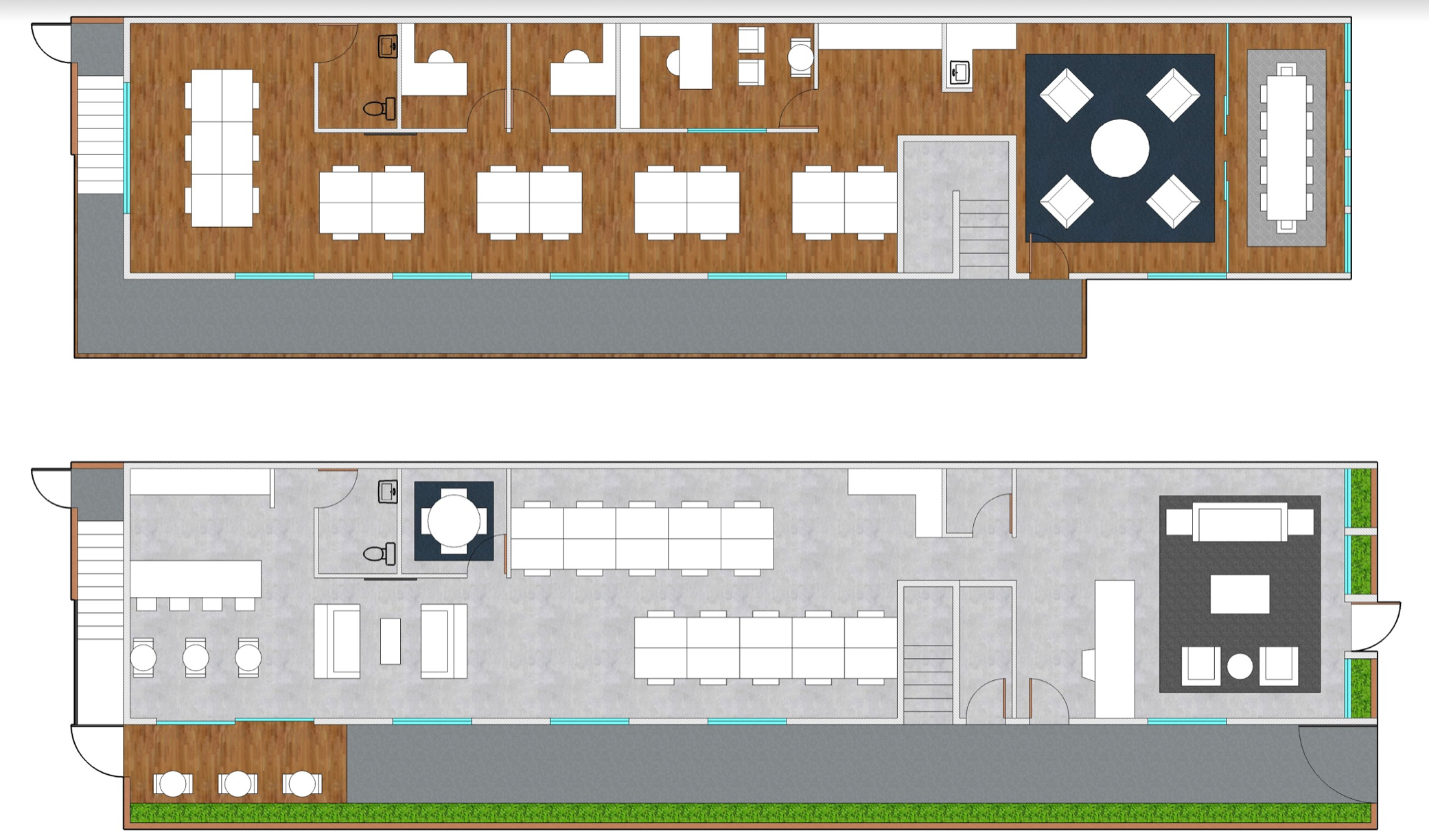 Creative Office - Floorplan