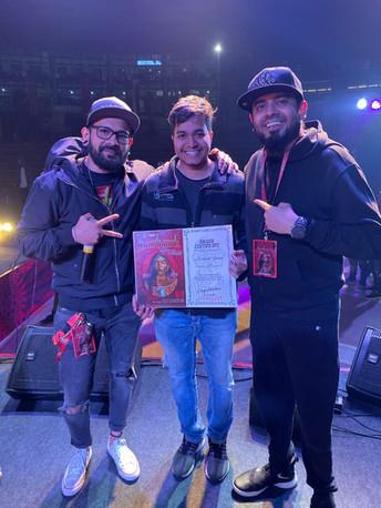 Siddhesh Gawde at Heartwork Tattoo Festival 2019