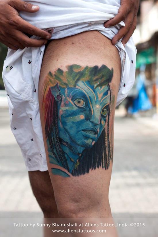 Avatar Tattoo by Sunny Bhanushali
