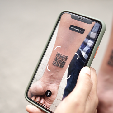 QR Code Tattoo for Beginners