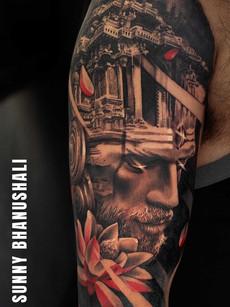 shiva-tattoo-at-aliens-tattoo-india