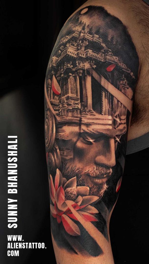 Shiva Tattoo At Aliens Tattoo India