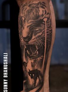 tiger-tattoo-at-aliens-tattoo-india_