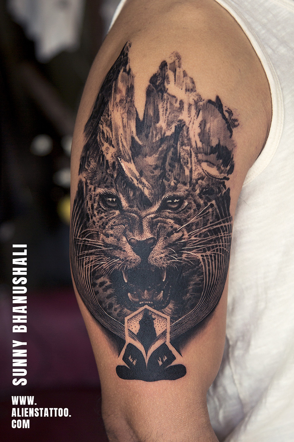 Tiger Tattoo - Animal Tatoo - Aliens Tattoo