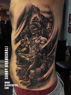 Shiva Tattoo | Aliens Tattoo