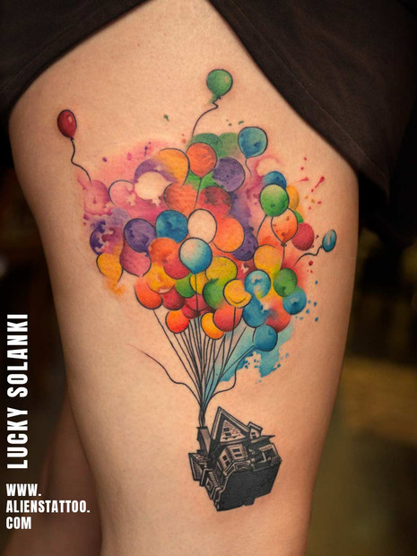 colourful-balloon-tattoo-at-aliens-tatto