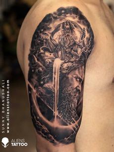 brahma-arjuna-tattoo-india-mythology-tat