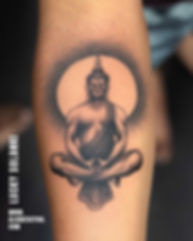 Buddha Tattoo At Aliens Tattoo India_