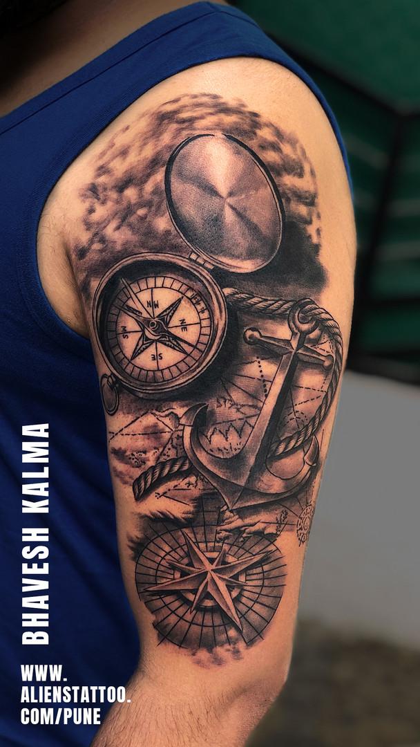 Travel Tattoo Aliens Tattoo India