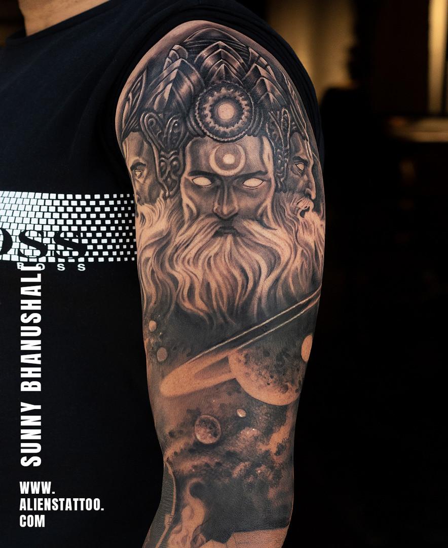 Lord Brahma Tattoo Aliens Tattoo India