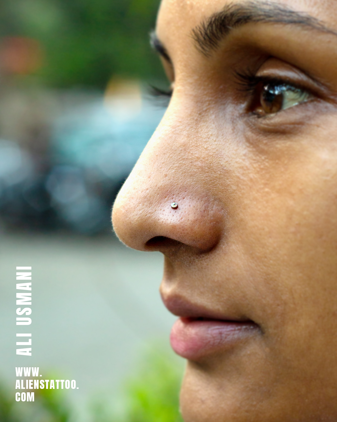 TRADITIONAL NOSE PIERCING