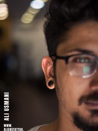 bhanu-earlobe-piercing-by-ali