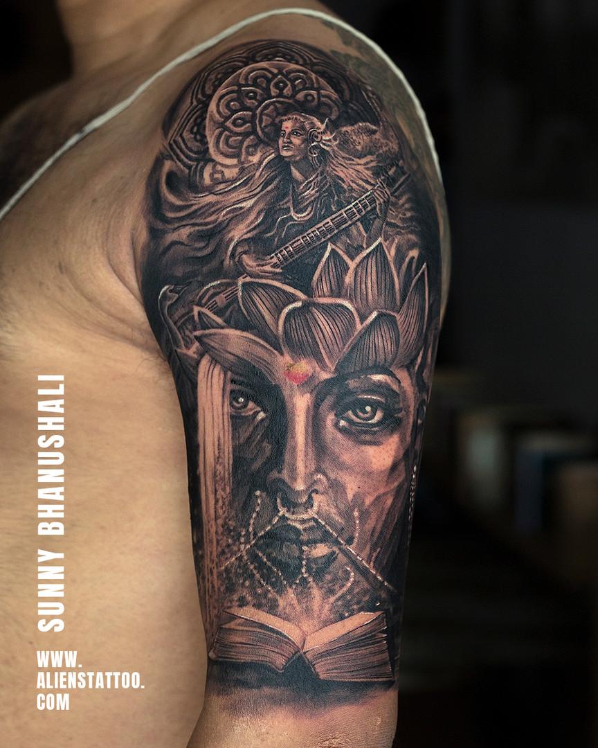Devi Tattoo Aliens Tattoo India