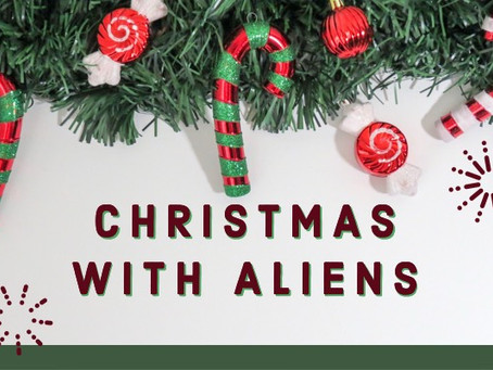 INK-redible Christmas with Aliens!