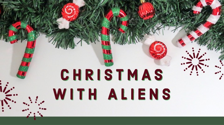 Aliens Tattoo - Christmas With Aliens