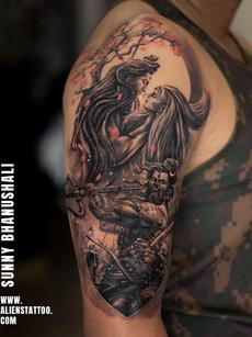 lord-shiva-warrior-tattoo-at-aliens-tatt