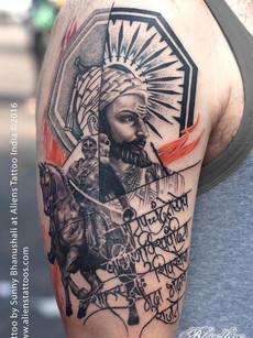 shivaji-tattoo-at-aliens-tattoo-india_