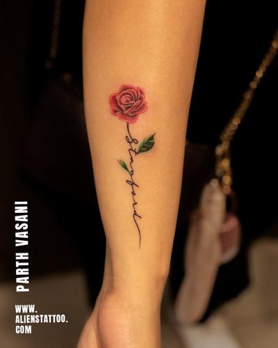 Minimal Tattoo At Aliens Tattoo