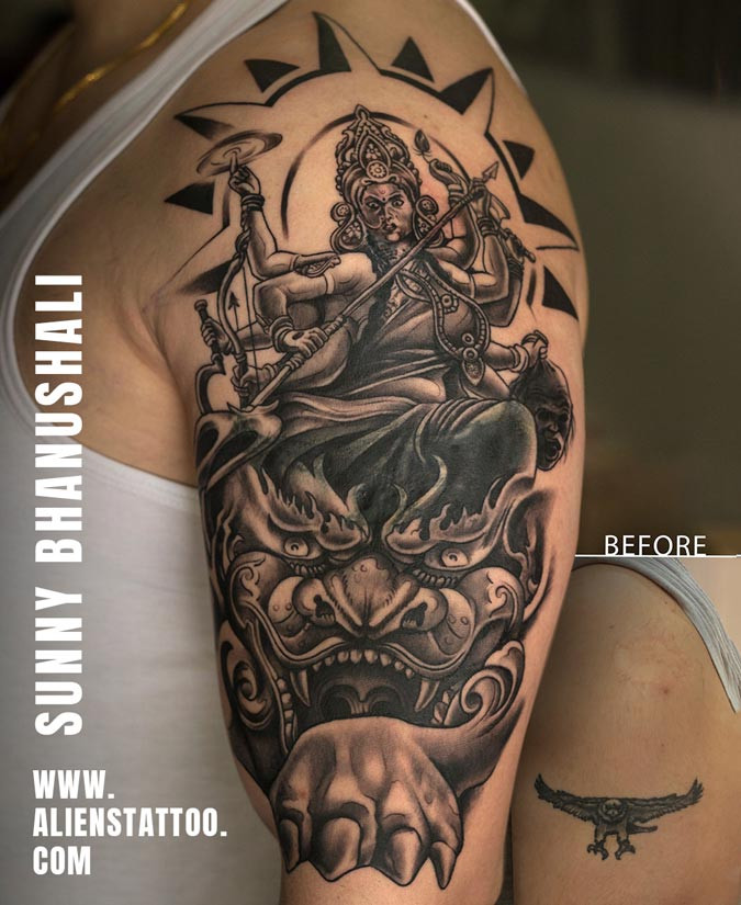 coverup-tattoo-goddess-durga-tattoo-indi