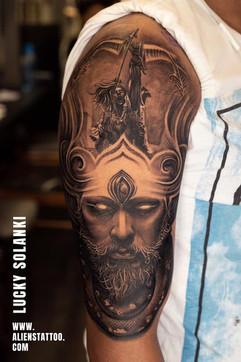 shiva-arjuna-tattoo-by-lucky-solanki-aliens-tattoo