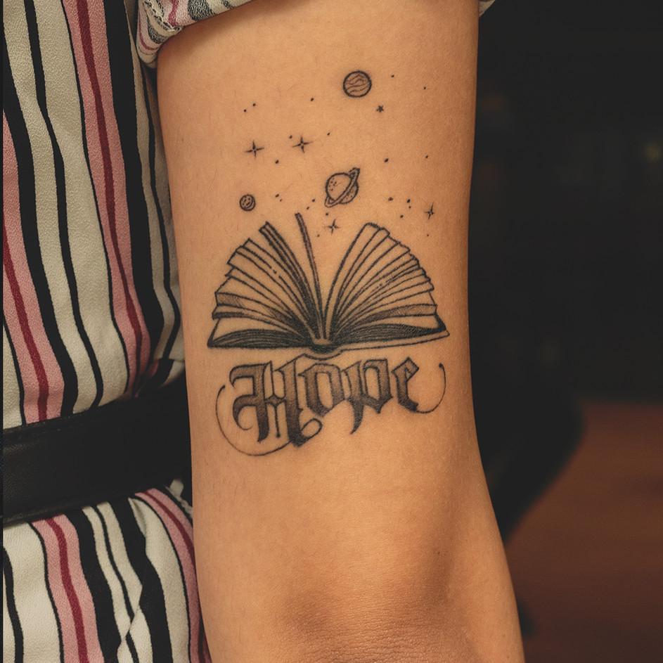 Customized Script Tattoo for Beginners
