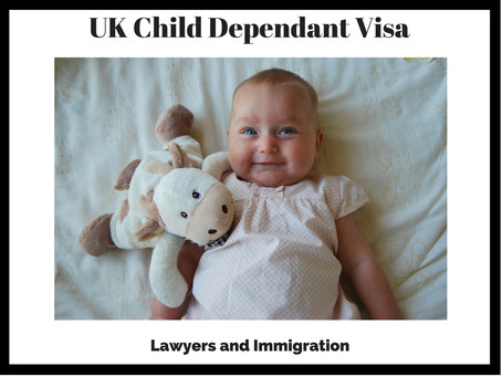 Child Dependant Visa - United Kingdom
