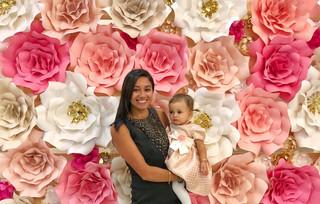 Sweet 16  Custom Flower Wall