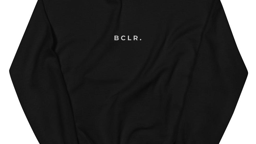 BCLR. Unisex Sweatshirt Black