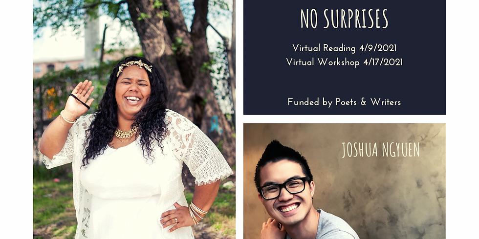 No Surprises, a Reading with Joshua Nguyen & Monica Davidson