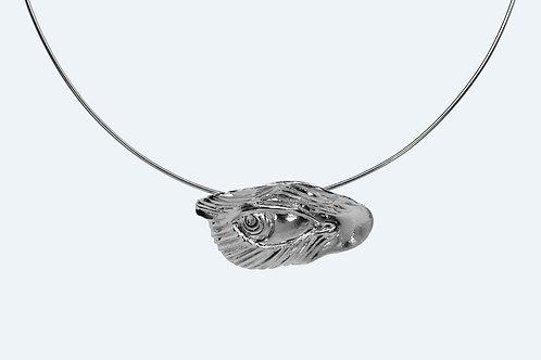 Fierce Necklace II Silver