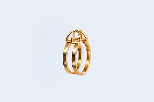 Foolish Ring Gold