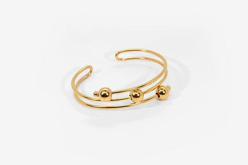 Fear Bracelet Gold