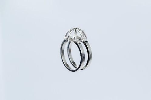 Foolish Ring Silver