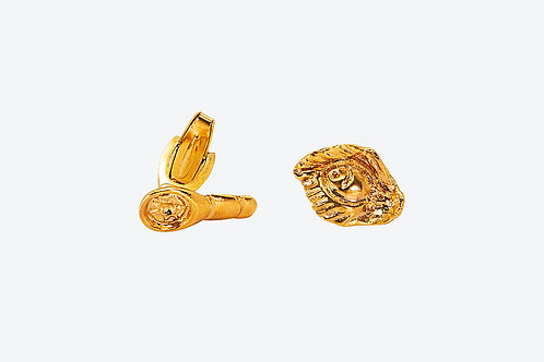 Fierce Cufflinks Gold
