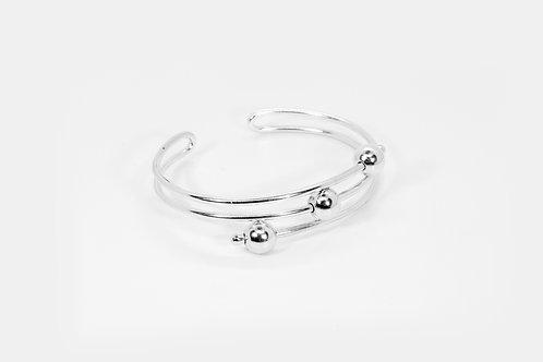 Fear Bracelet Silver