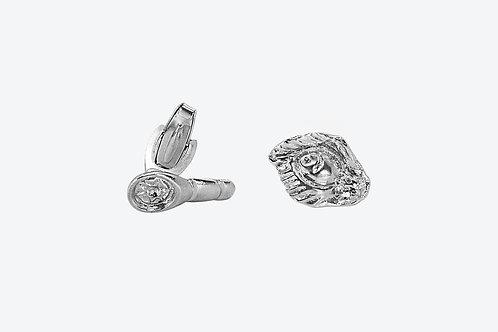 Fierce Cufflinks Silver