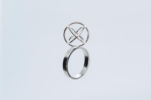 Fall Ring Silver